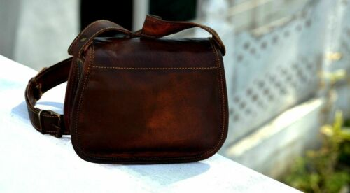 Details about  /New Women Vintage Brown Leather Messenger Cross Body Bag Handmade Purse