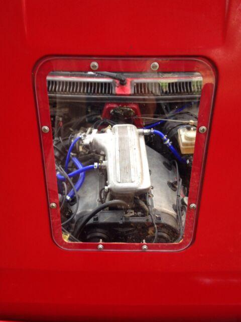 Alfa Romeo Alfetta GTV6 Maratona style transparent bonnet hood window