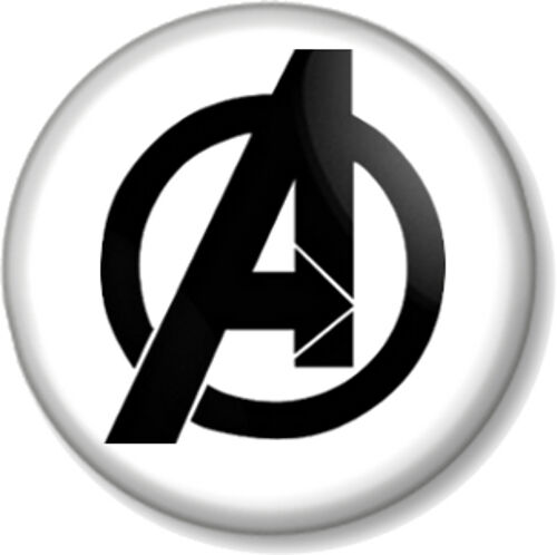"""BLACK WIDOW 1"""" Marvel The Avengers film movie pin button 25mm badge"""