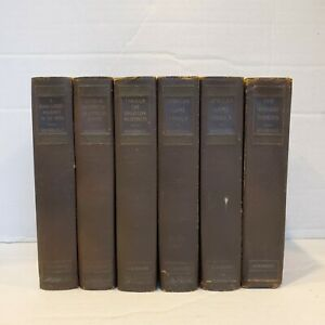 6-Antique-Books-Written-by-Theodore-Roosevelt-1920-Editions-Scribner-039-s