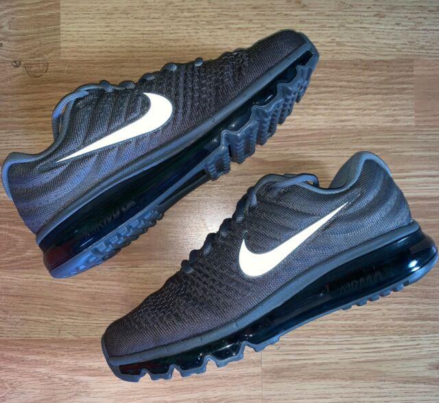 Nike Air Max 2017 University Red Black Men's Running Athletic Sport Shoes Sneakers 849560 600