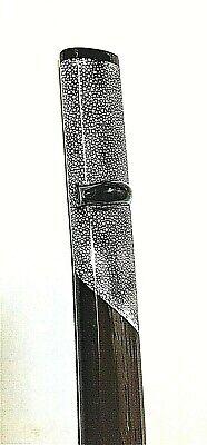 Saya Part Rayskin Scabbard sheath for katana Iaito iaido Japanese Brown fitting