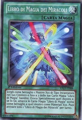 Carte Xyz Incantatore.3x Book Of Magic Of Miracles Yu Gi Oh Ltgy It088 Ita Common 1 Ed Ebay