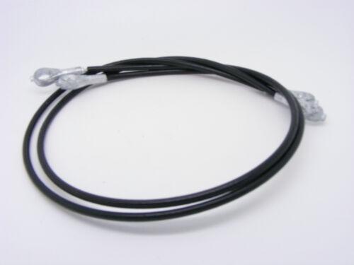Classic Mini Boot lid Câbles X 2 14A6740 Rover Austin Morris support paire de bretelles