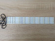 5x LED Waggonbeleuchtung 285 mm  High Power mit 10 PLCC 2 Dioden