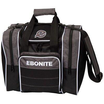 Ebonite Impact Plus Single Black//Smoke 1 Ball Bowling Bag