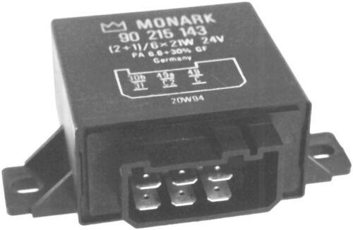 MAN VOLVO//electronic hazard flasher MONARK Blinkgeber 24V für DAF MERCEDES