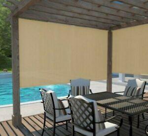 Coolaroo-Cordless-Outdoor-Fade-Resistant-Fabric-Exterior-Roller-Shade-48-034-x-72-034