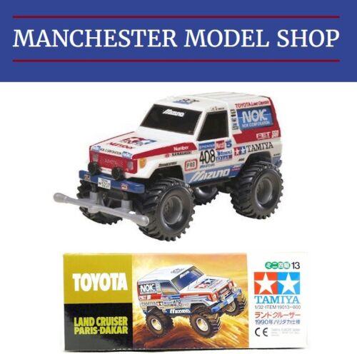 Tamiya 19013 Mini 4WD Toyota Land Cruiser 1990 Paris-Dakar NEW BOXED