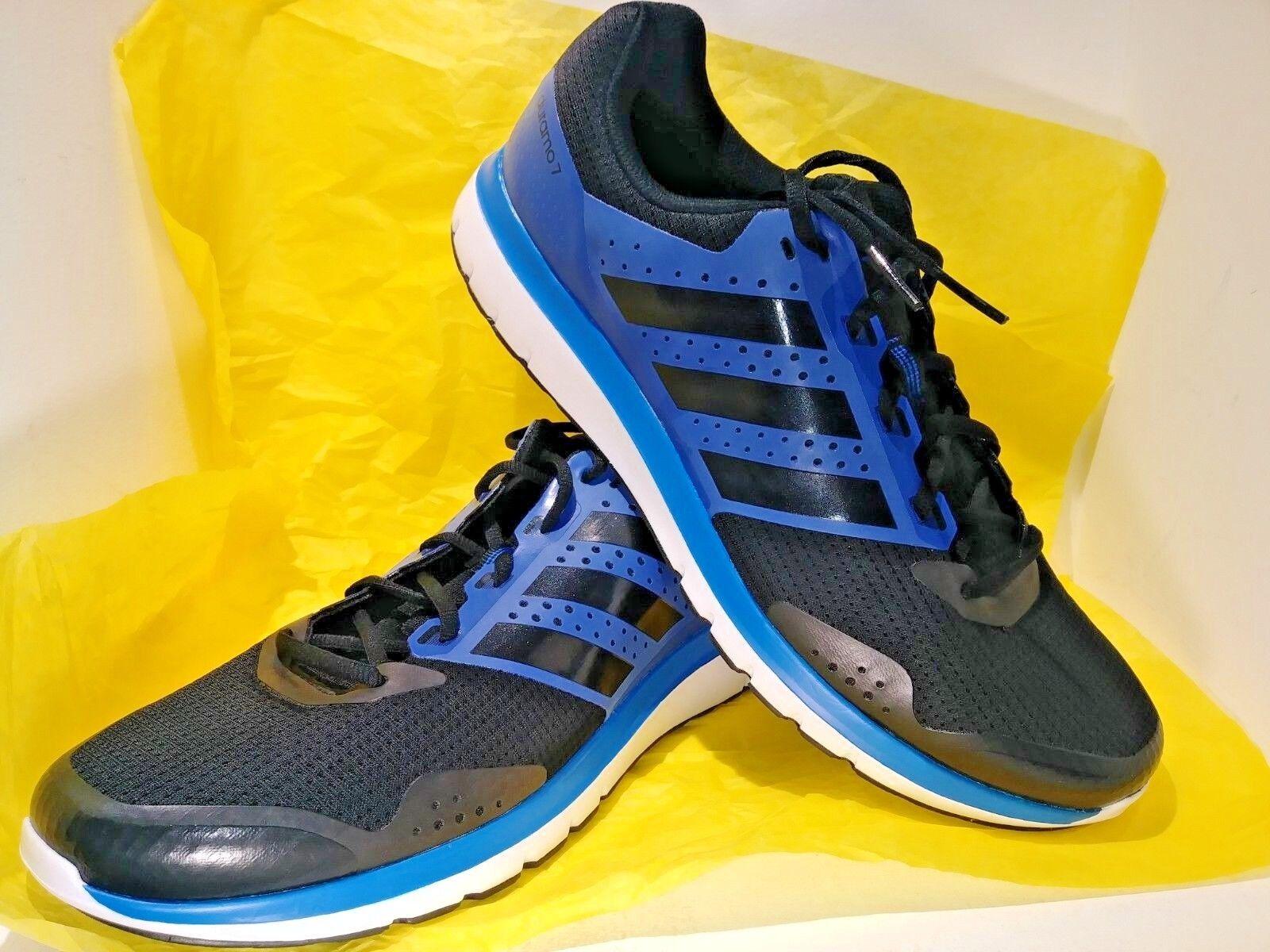 Mens adidas duramo 7 7 7 blu sport fitness atletico scarpe nuove dimensioni 13 | bello  5ada5b