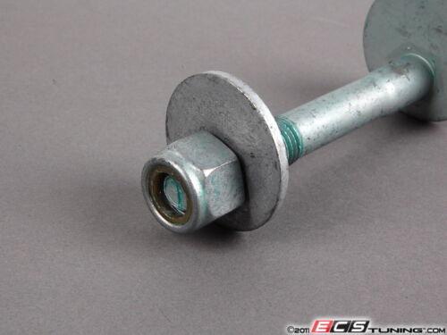 8do598001 Rear Tie Rod Eccentric Bolt Kit Priced Each Genuine VW Audi