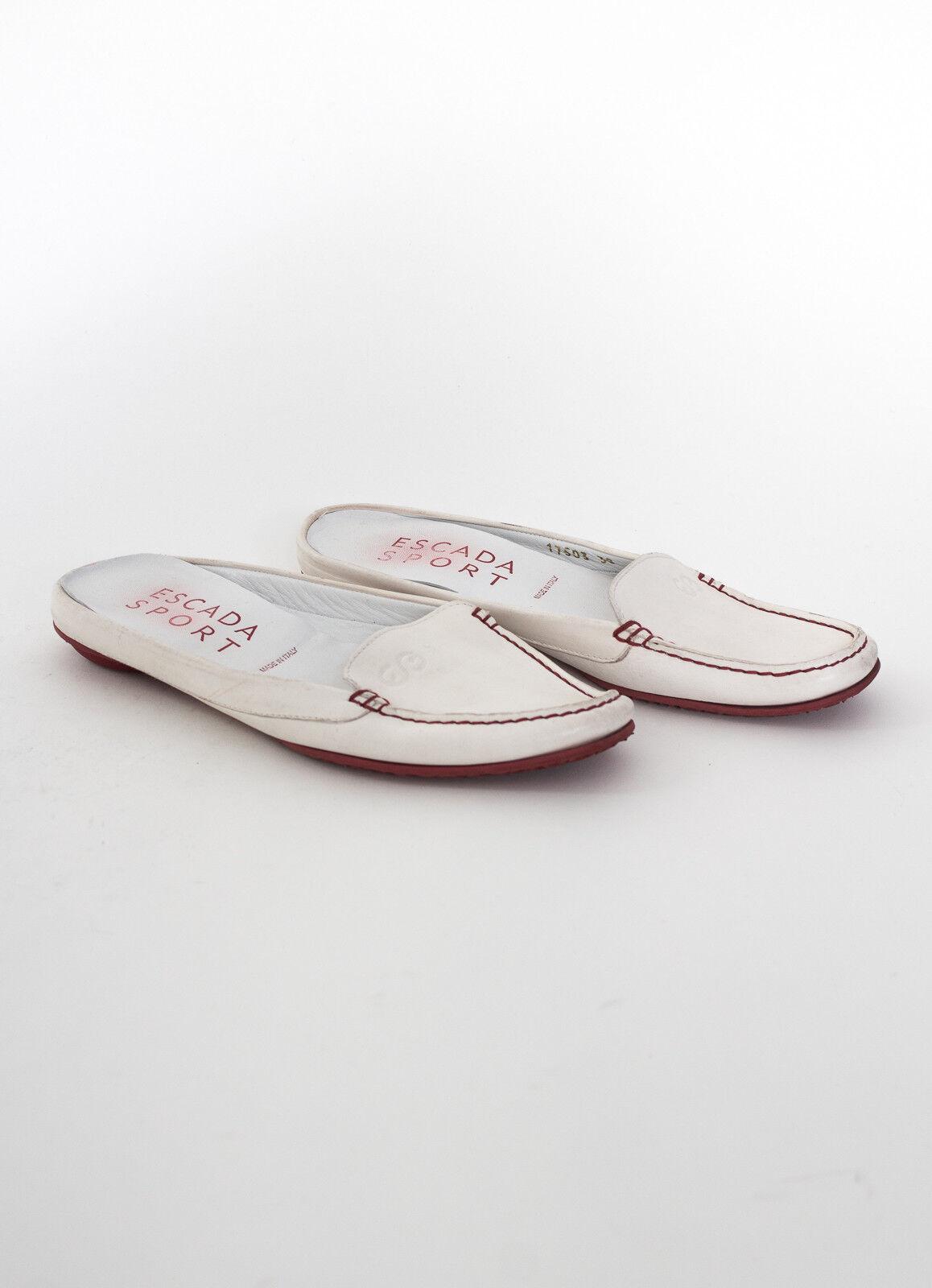 Escada Sport Sandali MIS. de 38 Scarpe pelle da donna in pelle Scarpe bianca fe449a
