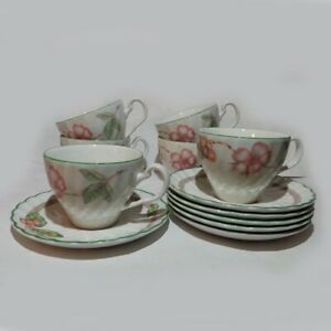 Johnson Brothers Cup with Saucer Porcelain England, set of 6