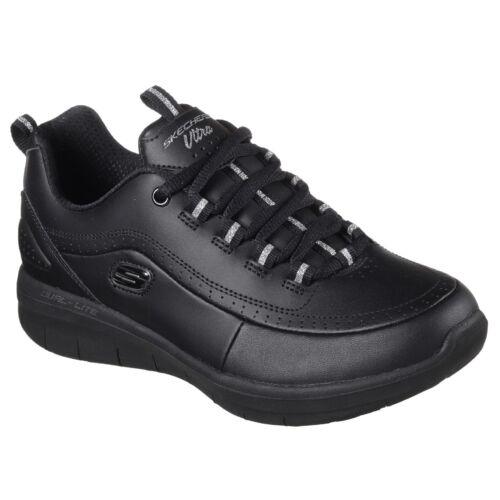 Espuma Mujer Sinergia La Cuero 0 2 Zapatos De Skechers Zapatillas Memoria wURFqIvFx
