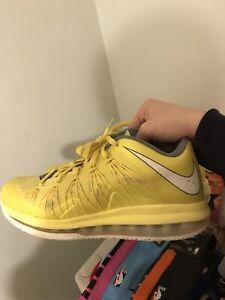 Nike Air Max LeBron 10 X Low Sonic