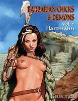 Barbarian Chicks & Demons Vol. 7 by Hartmann   Paperback Book   9781681120690  