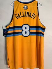 Adidas Swingman NBA Jersey DENVER Nuggets Danilo Gallinari Gold Alternate  sz XL 455305970