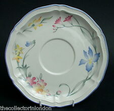 Villeroy & Boch Riviera Large Soup or Breakfast Cup Saucers 17cm - New & Unused