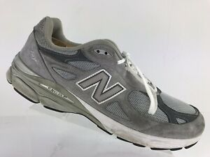 the latest 6cc23 0e399 Details about New Balance 990 Heritage Collection Grey USA Running Sneaker  Shoe Men's 15 D