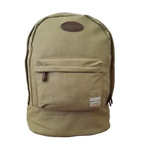 d21f079651 Image is loading Mens-Brakeburn-Backpack-Tan-Strong-Canvas-Rucksack-Outdoors