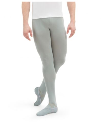 Men/'s Footed Tights Repetto Paris Gray Ballet Cotton Adult or Youth