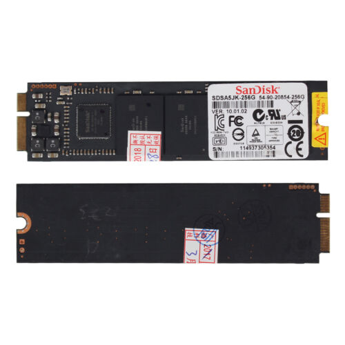 Asus UX21 UX31 TAICHI21 TAICHI31 Sandisk 256GB NGFF Laptop SSD SDSA5JK-256G-Q f