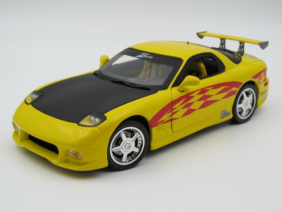 Modelbil, 1993 Mazda RX-7 Extreme, skala 1:18