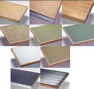 Details zu Arbeitsplatte Werkbankplatte verschiedene Beläge Buche Multiplex  Holz Platte TOP