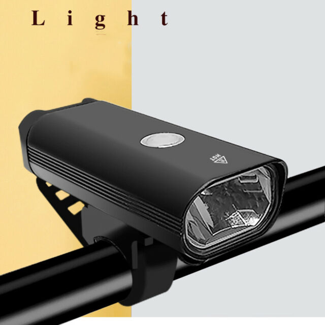 Waterproof USB Rechargeable Headlight Bike Lamp Bicycle Flashlight Front Light b