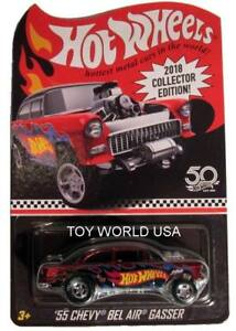 2018-Hot-Wheels-Collector-Edition-039-55-Chevy-Bel-Air-Gasser-KMART-mail-away