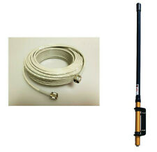 Procomm Spider Police scanner home base station antenna w// 50ft coax cable