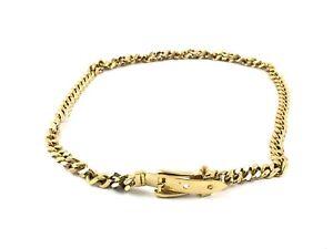 Caricamento dell immagine in corso Gucci -Cintura-Belt-Catena-Chain-Plaque-Usata-Buone- c265b53787e6