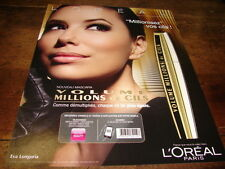 EVA LONGORIA - Publicité de magazine COSMETIQUE !!!!!! 1 !!!!!!!!!!!