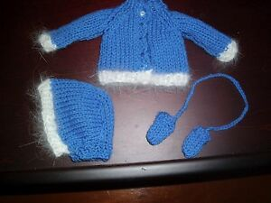 NO-DOLL-BEAUTIFUL-AUTHENTIC-REPRO-SWEATER-SET-4-BLEUETTE-DOLL-11-034