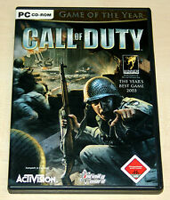 CALL OF DUTY - GAME OF THE YEAR EDITION - PC CD KOMPLETT MIT HANDBUCH