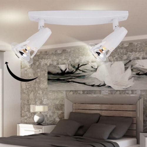 Luxus Decken Leuchte Balken Strahler Wand Lampe Wohnraum Spot weiß schwenkbar