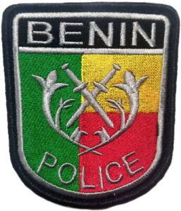 Benin-Policia-Nacional-pais-africano-EB01318-Parche-Emblema-Recuerdos