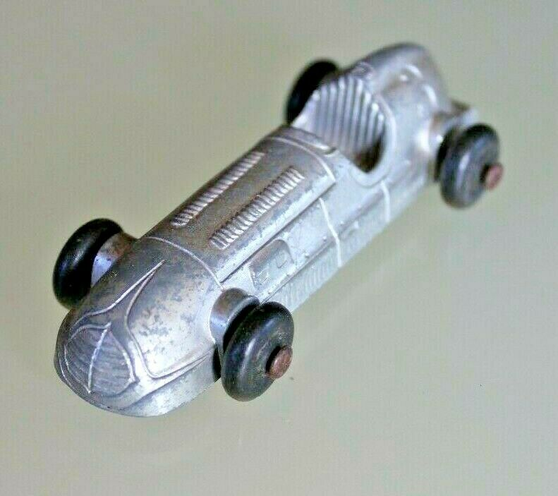 Toy Old Lead Toosietoy Car Race Years 30 USA