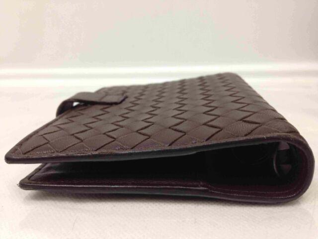 3c34de7f8dae1 Authentic BOTTEGA Veneta Intrecciato Day Planner Cover 0734 for sale online  | eBay