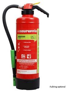 Auflade-Feuerloescher-6Liter-Schaum-S6-SKP-eco-Neuruppin-34A-183B-10LE-Kartusche