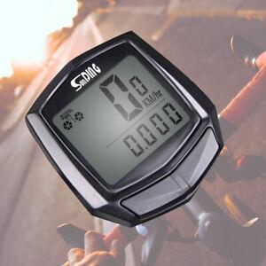 Bike-Wired-Stopwatch-Chic-Multifunction-Speedometer-Odometer-Sensor-Outdoor-UK