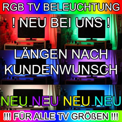 LED TV BELEUCHTUNG HINTERGRUND BELUCHTUNG LÄNGE NACH WAHL 46 50 55 60 65 Zoll