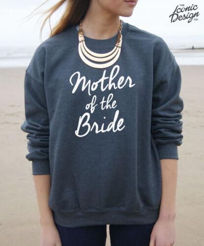 Mother Of The Bride Jumper Sweater Top Sweatshirt Present Wedding Gift Hen Party