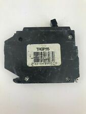 Ge General Electric Thqp115 Thin 15 Amp 1 Pole 120240vac Breaker
