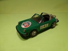 MEBETOYS 8590 PORSCHE 911 S 911S SKI SCI MADESIMO - GREEN 1:25 - GOOD CONDITION