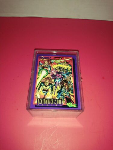 NEW 1-100 Details about  /DEATHWATCH 2000 BY CLASSIC 1993 COMPLETE BASE CARD SET