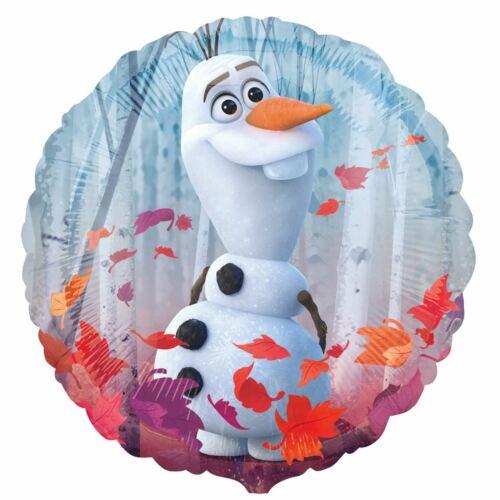Disney Frozen II 2 Helium Foil Balloon Birthday Party Decoration Olaf Elsa Anna