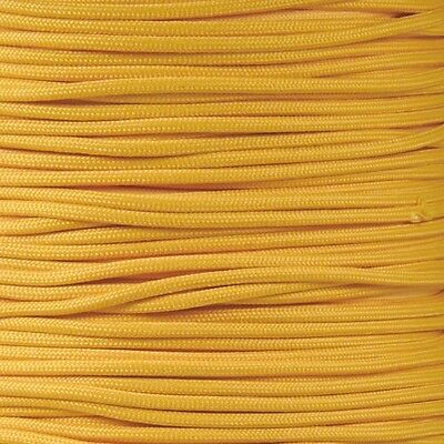 Gold 550 Paracord Mil Spec Type III 7 strand parachute cord 100 ft