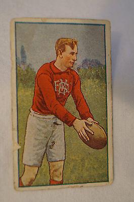 South Melbourne -1920's - J.J Schuh Vintage Magpie Cigarette Card -T.O'Halloran.