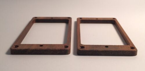 Guilford Cocobolo Flat Humbucker Pickup Ring Set USA
